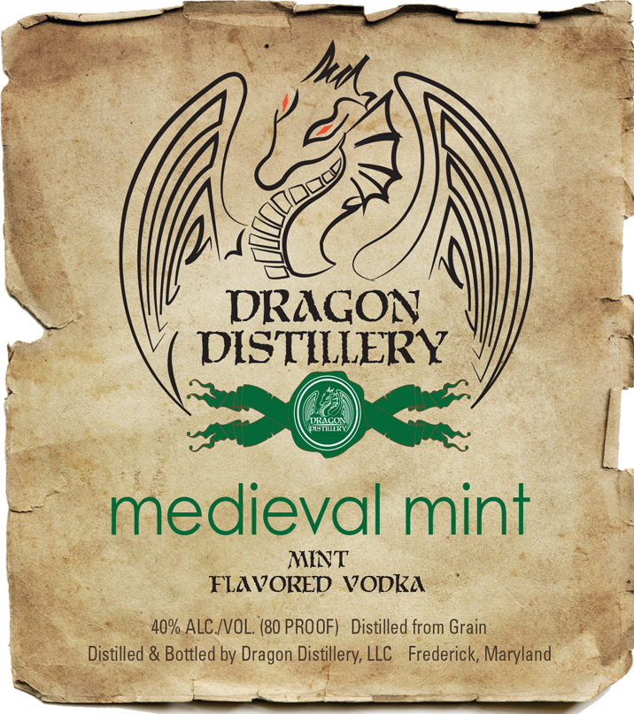 Medieval Mint (Peppermint-Chocolate Vodka